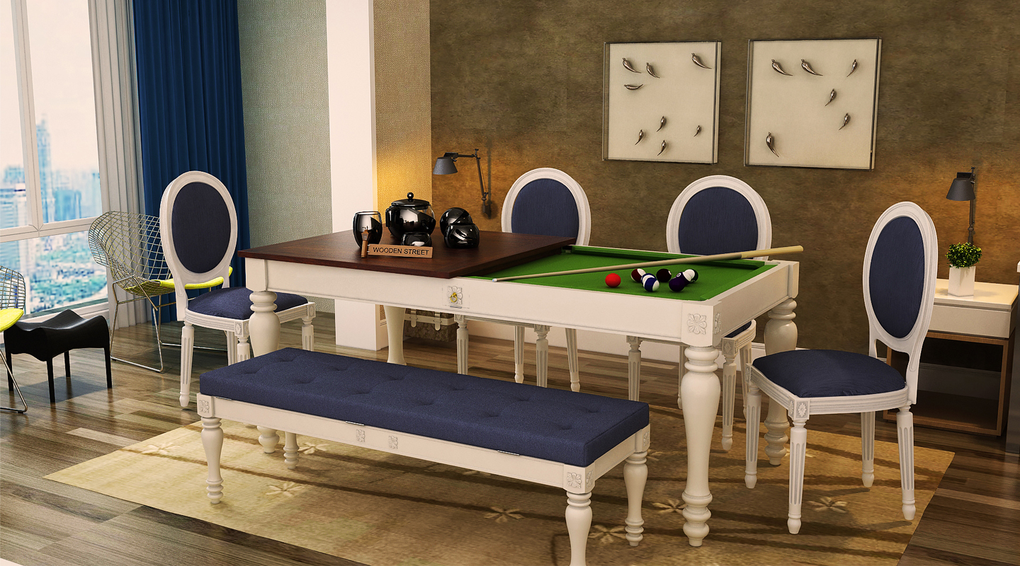 Pool And Dining Table Wooden Street Is Redefining Innovation In Furniture With The