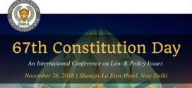 "INBA invites Startups for one-to-one interaction with Top Legal Experts & Policy Makers at Indian National Bar Association's Annual International Conference on Law & Policy Issues titled ""67th Constitution Day"""