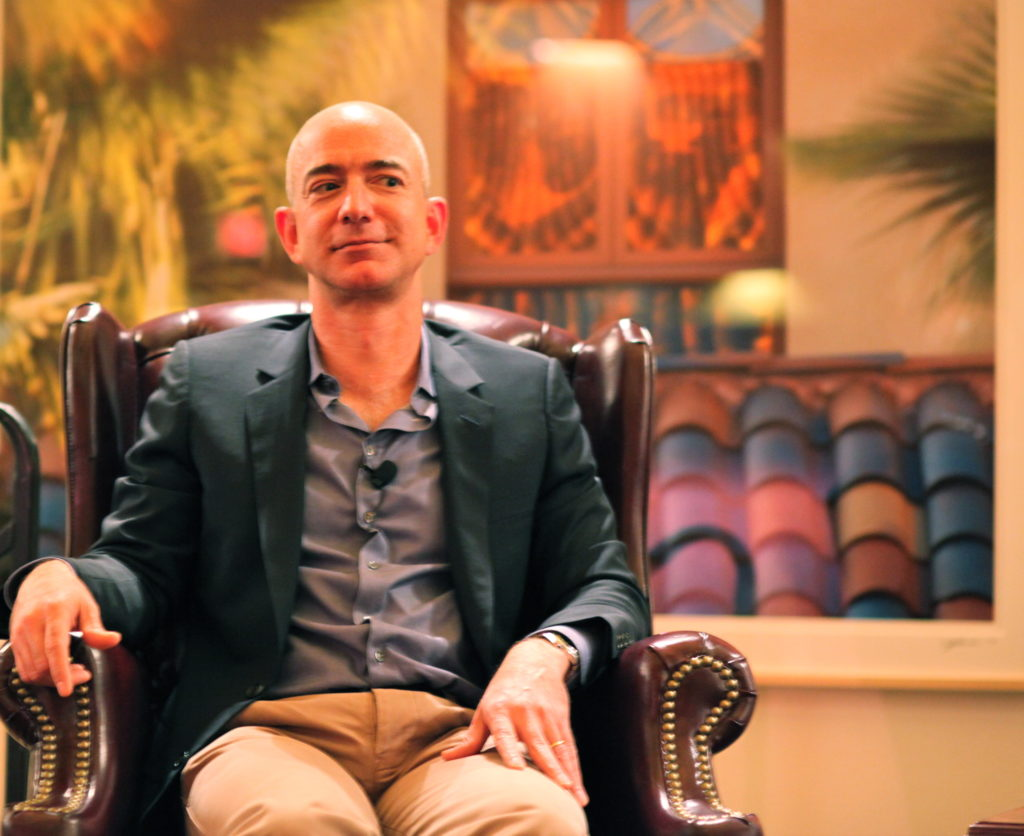 Jeff Bezos, The Founder and the CEO of Amazon