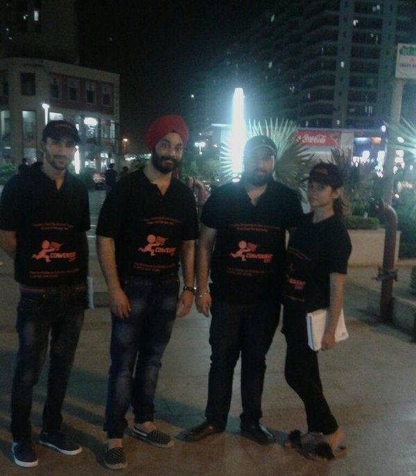 Satjeet and marketing team
