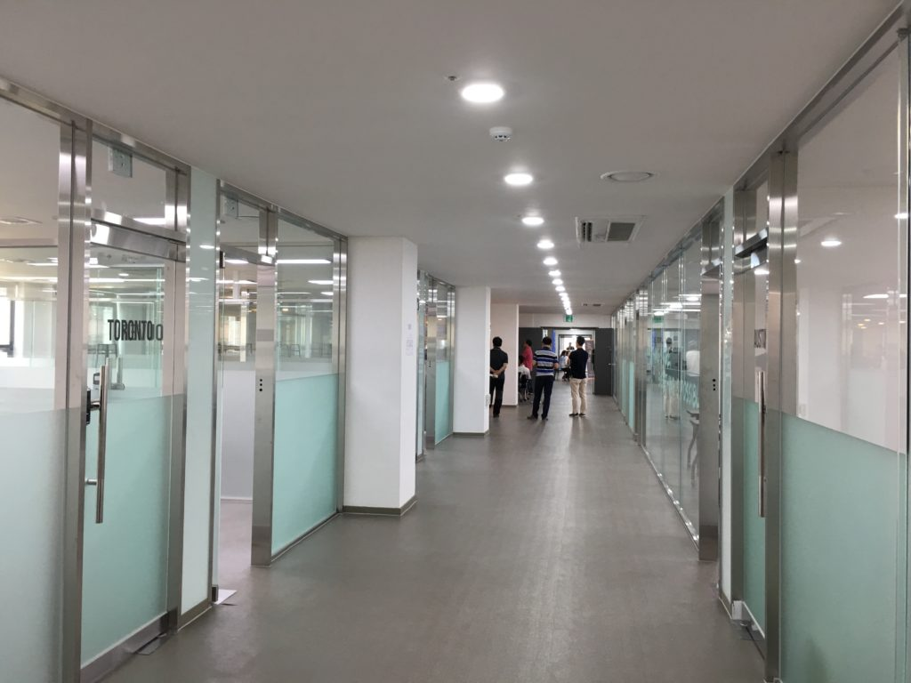 Seoul Global Startup Centre hallway