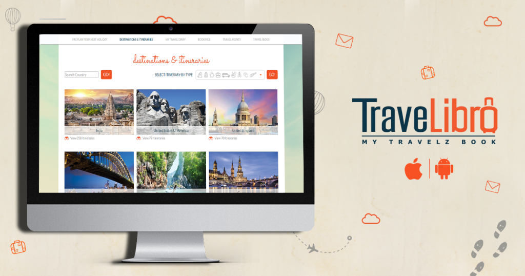 TraveLibro is a travel social networking portal which aims to create a travel eco system