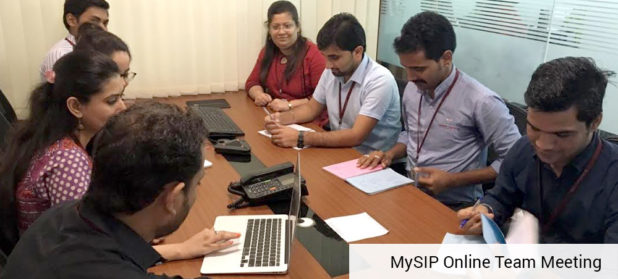 my sip online team meeting
